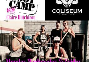 *LADIES* Boot Camp class with Claire Hutchison